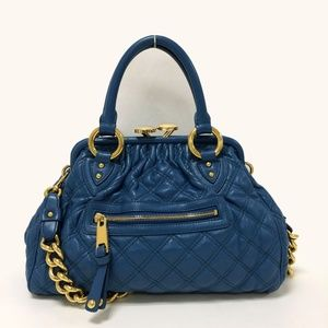 60% OFF Marc Jacobs Stam Quilted Leather Satchel